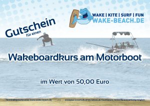 Gutschein Wakeboardkurs